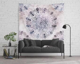 STARS MANDALA -  Bohemian Wall Tapestry