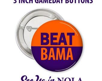 Game Day Pin .Beat Bama.  Alabama Vs Clemson 2017 Sugar Bowl