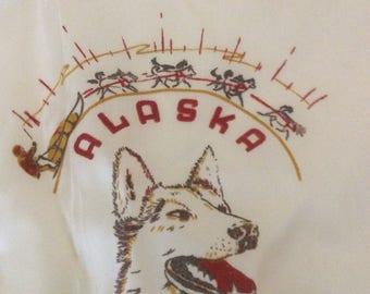 Vintage Souvenir Alaska/Alaskan Bib Apron