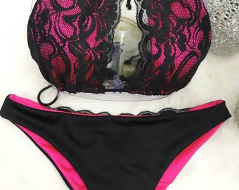 Pretty in lace B-kini