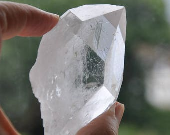 Alcyone Pleiades starbrary quartz Metaphysical Crystal 128 gr(0259) RARE