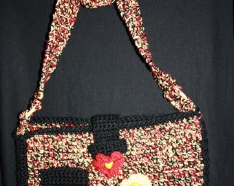 rasta Heather bag cotton and wool