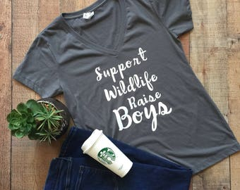 XLarge - Support Wildlife Raise Boys
