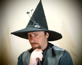 """Witch Hat """"Samuel"""" One of a Kind"""
