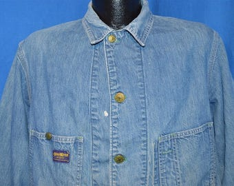 50s Osh Kosh B'Gosh Railroad Denim Jacket Large