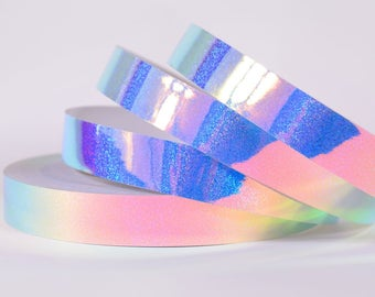 Holo Glitter  indigo Color shifting Morph Taped Performance Hula Hoop Polypro or HDPE