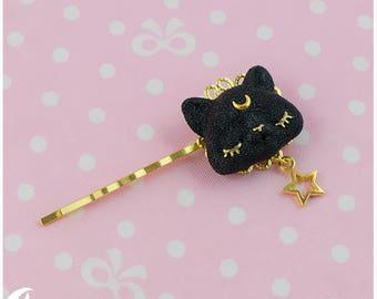 Dreamy cat Hair clip 2