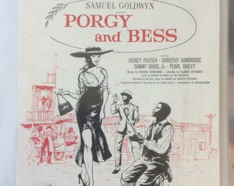 "Samuel Goldwyn presents Porgy and Bess ""My Man's Gone Now"""