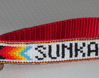 Beaded, Personalized Key Ring