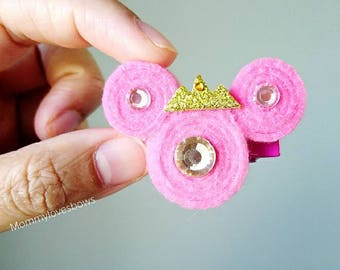 Disney Princess Minnie Mouse Rollies Hair Clip