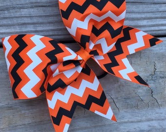 Black and white chevron on ribbon. Available in many colors.