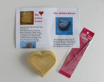 Hazel Rose Loom Kit - Sweetheart Loom - SMALL - Maple