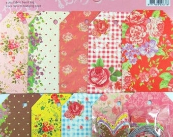 Gift Tags, Fabric, 31 Piece Set (409)