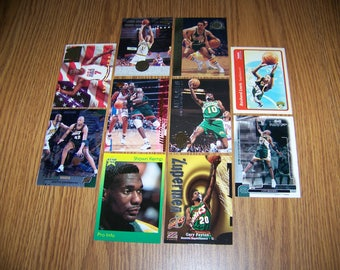 50 Seattle Supersonics Basketball Cards