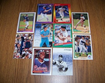 50 Atlanta Braves Baseball Cards