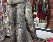 Grey French Rabbit Fur Ja...
