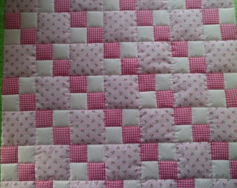 Quilt for Baby (or toddler) Girl