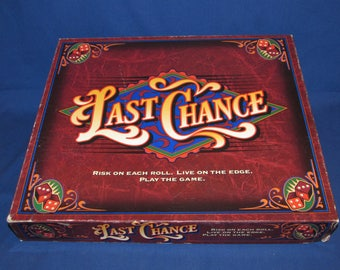 LAST CHANCE GAME 1995 Milton Bradley