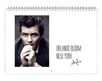 Orlando Bloom Vol.1 - 2018 Calendar