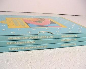 Avon Cookbooks, Vintage Set of 3 Avon Cookbooks, 1989, No Nonsense Cookbook Trio