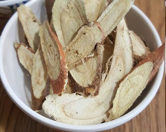 Dried Licorice Root | Thin Sliced 1 ounce | Teas and Herbal Infusions | Pagan Apothecary | Occult New Age Supply | Hedge Witch | Green Witch