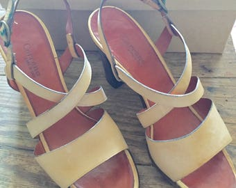 Carrano Italian leather sandals