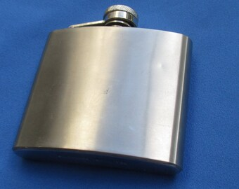 Retro Stainless Steel Flask 5 Ounce