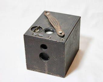Kodak No. 2 Model D Bulls-Eye Wooden Box Camera