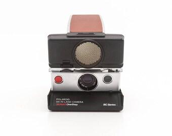 Polaroid SX-70 land camera SONAR OneStep BC Series AutoFocus - Tested - Guaranteed Working 80s vintage