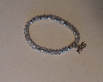MRS crystal stretch bracelet