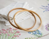 Custom order for Lily - DO NOT BUY! - Vintage hoop_embroidery hoop_two rings_diameter 20 cm/7.87''_retro craft supply_sewing frame
