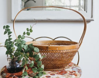 Vintage Boho Fruit Basket
