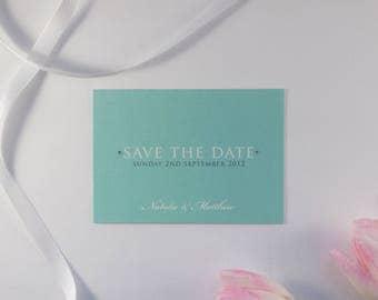 TIFFANY // Wedding Stationery // Save the Date