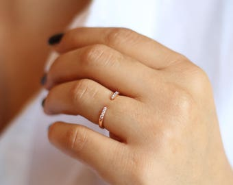 Gold Open Ring
