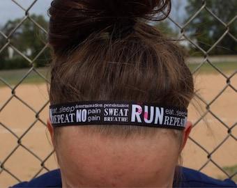 Running Headband Adult - Nonslip Headband - Athletic Headbands for Women - Fitness Headband