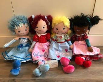 New!  Cubbies Personalized Rag Dolls Canada