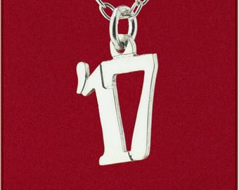 Handmade '17, '18, '19, '20, '21, '22 Double Digit Graduation Year Pendant 925 Sterling Silver Jewelry - Charm Only