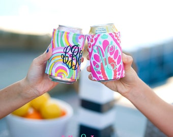 Personalized Monogrammed Drink Wraps by Viv & Lou