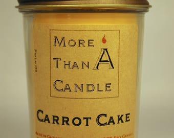 8 oz Carrot Cake Soy Candle