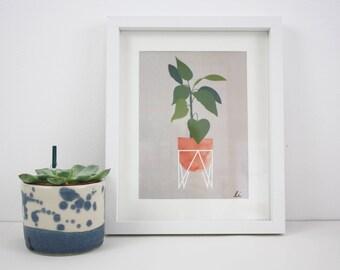 Skandi Plant print
