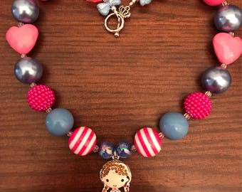 Princess Anna from Frozen Bubble Gum Necklace (Child/Toddler)