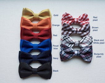 Bow Tie - bow tie for Kids,cotton bow tie, boys bow tie,wedding bow tie ring bearer bow tie