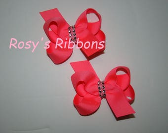 Pigtail set of hair bows