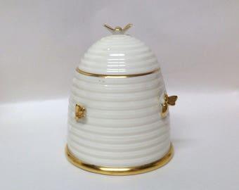Vintage Lenox Beehive Honeypot