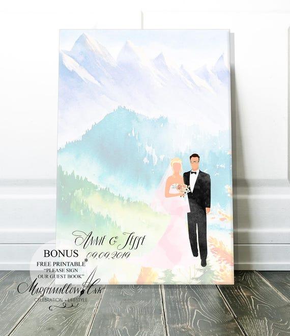 Guest Book Alternative Wedding Gifts Ideas