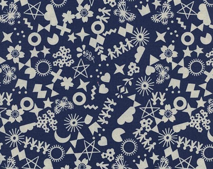 Pre-Sale- Cut It Out in Navy -Paper Cuts -Rashida Coleman-Hale for Cotton + Steel