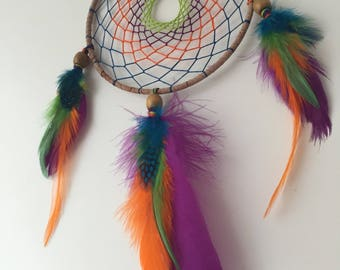 Colorful Vibrant Dreamcatcher