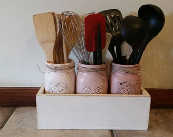 Kitchen utensil holders