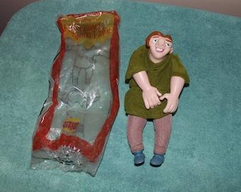 Vintage 1996 Hunchback of Notre Dame Quasimodo Puppet Burger King Mattel Opened package
