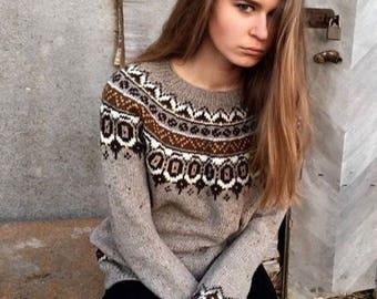 cashmere merino icelandic sweater tweed sweater green sweater. Black Bedroom Furniture Sets. Home Design Ideas